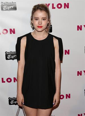 Taylor Spreitler NYLON Magazine Annual May Young Hollywood Issue Party (May 14, 2013)