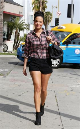 Tulisa Contostavlos - spotted very in Beverly Hills on March 20, 2013