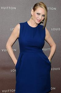 Uma Thurman Louis Vuitton Maison opening in Munich 4/23/13
