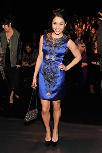 Vanessa Hudgens Naeem Khan Fall 2013 Fashion Show in New York, February 12, 2013