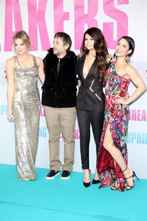 Vanessa Hudgens Spring Breakers premiere in Berlin 2/19/13