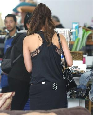 Vanessa Hudgens running errands in Los Angeles on May 7, 2013