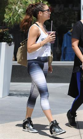 Vanessa Hudgens Spotted in Hollywood (May 20, 2013)