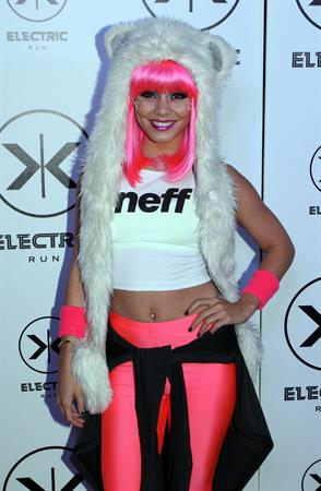 Vanessa Hudgens hosts 2013 Electric Run Los Angeles 5/24/13