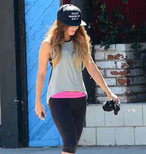 Vanessa Hudgens in LA 9/16/13