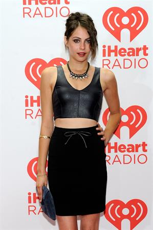 Willa Holland iHeartRadio Music Festival - Day 2, September 21, 2013