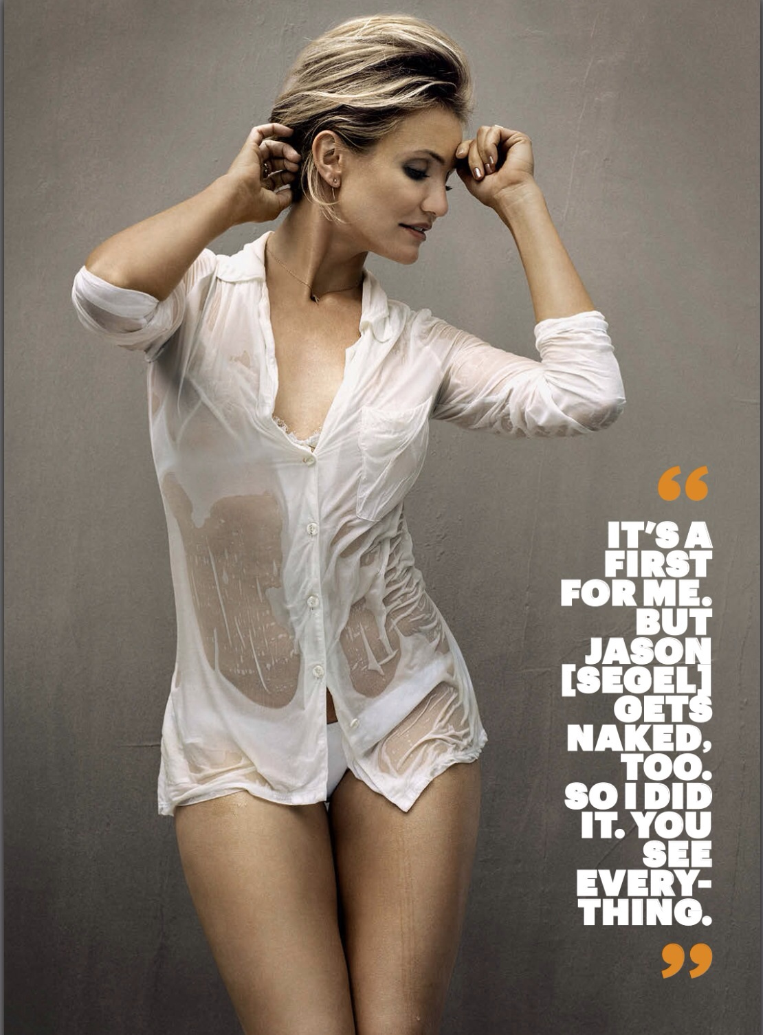Cameron Diaz Esquire USA Aug 2014
