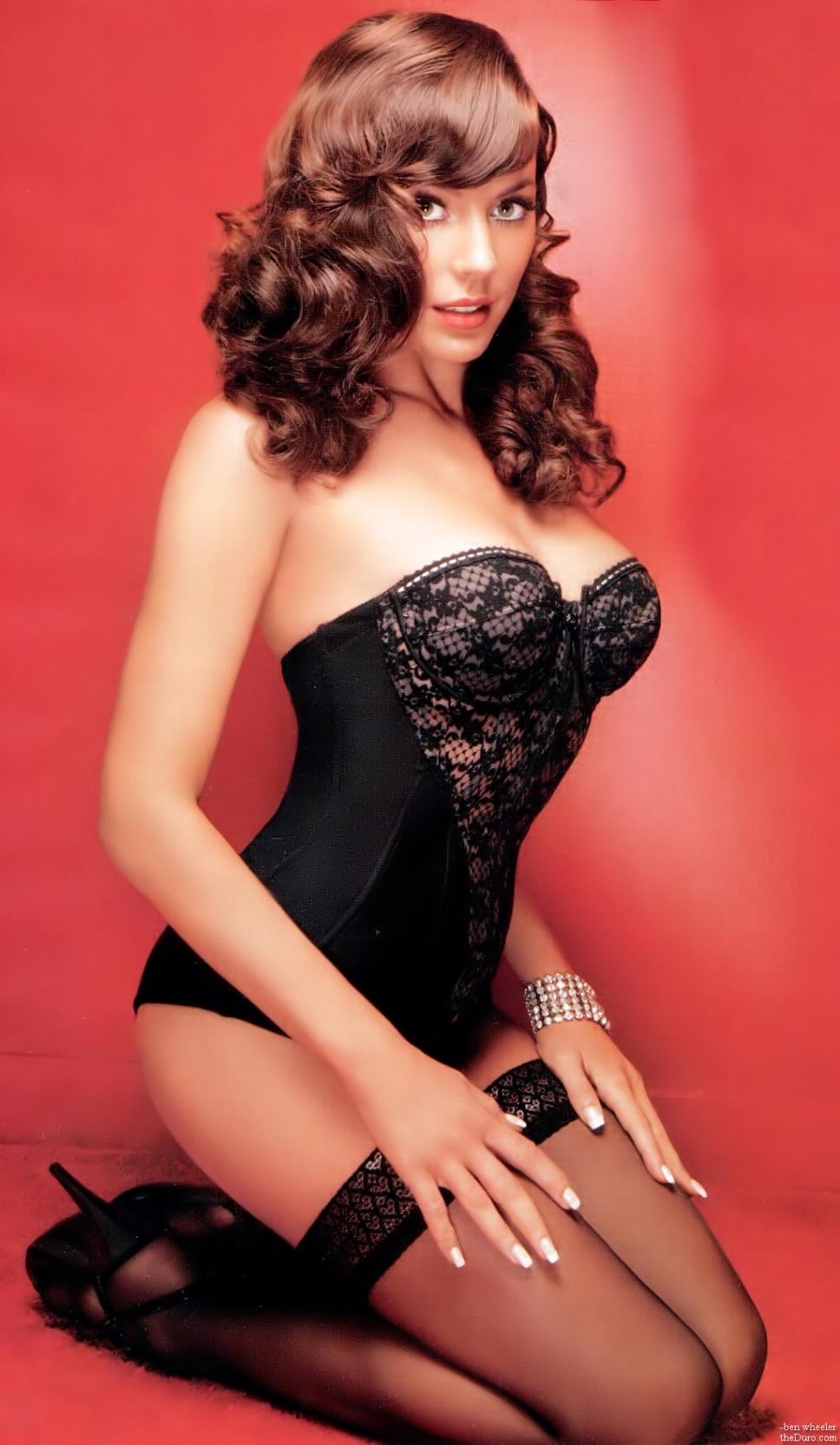 Krista Allen in lingerie