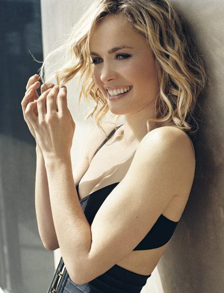 Radha Mitchell in lingerie