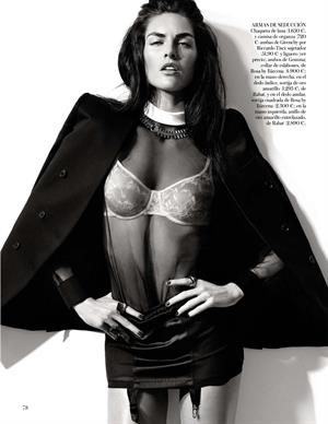 Black Tie  for Vogue Spain February 2013