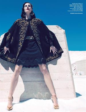 he Best Of What's New by Camilla Akrans for Harper's Bazaar Korea December 2012