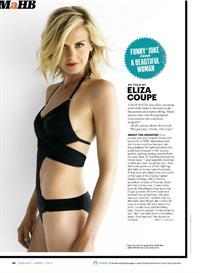 Eliza Coupe in a bikini