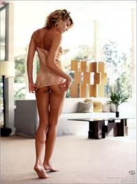 Tricia Helfer in lingerie - ass