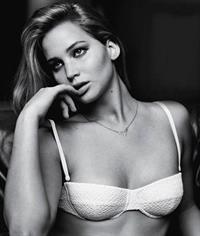 Jennifer Lawrence in lingerie
