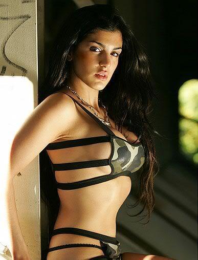 Aylar Lie in a bikini