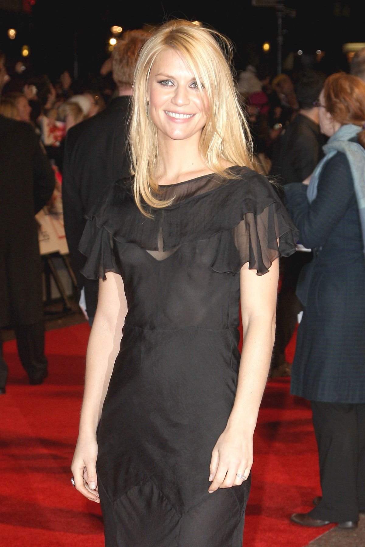 Think, that Claire danes see through please