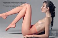 Josephine Skriver in the March 2014 Issue of Allure Russia.