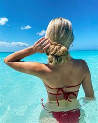 Hollyn Adams in a bikini