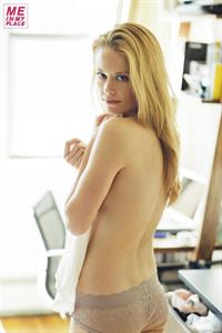 Claire Coffee in lingerie - ass