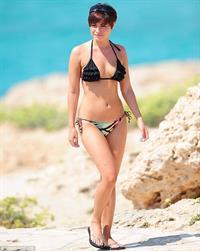 Sapphire Elia in a bikini