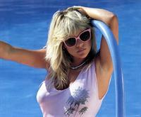 Samantha Fox in a bikini