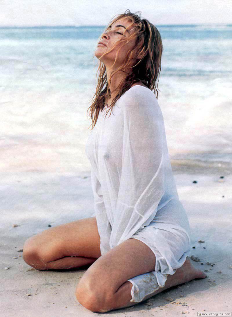 Emmanuelle Beart - breasts