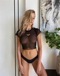 Marta Mielczarska black panties