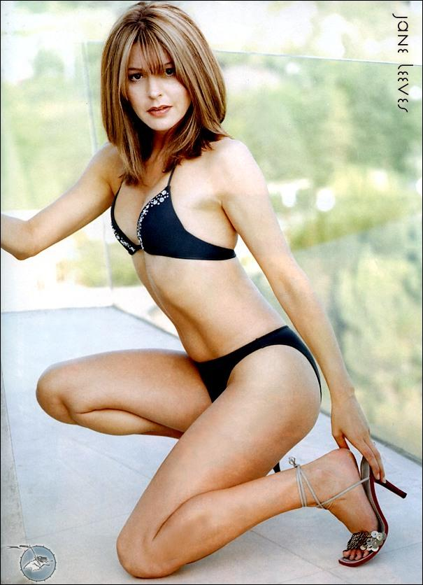 Jane Leeves in a bikini