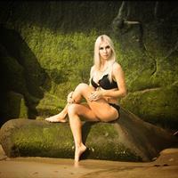 Yana R in a bikini