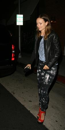 Olivia Wilde (27) at Mr Chow's Restaurant in Beverly Hills - June 12 2013