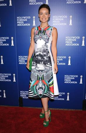 Olivia Wilde attends Hollywood Foreign Press Installation Luncheon in Beverly Hills - August 13, 2013
