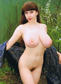 Yulia Nova - pussy and nipples