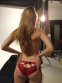 Ashley Lane in lingerie - ass