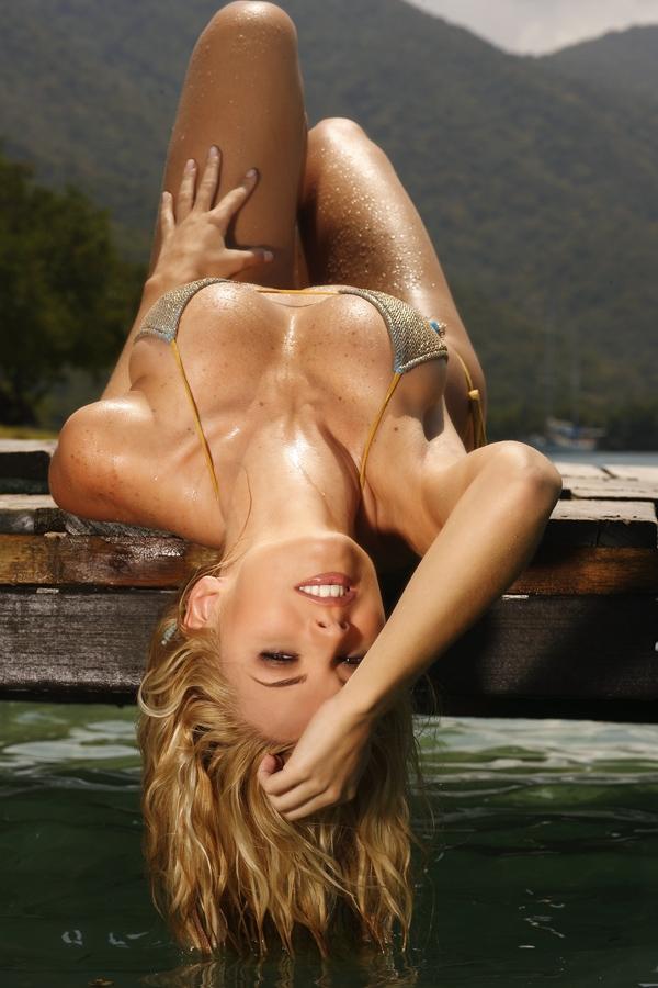 Marjorie de Sousa in a bikini