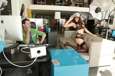 Jade Elizabeth in lingerie