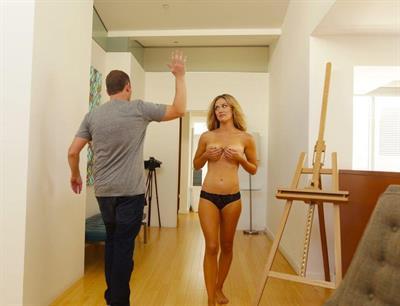 Sunny Reichert in lingerie