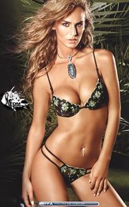 Sabrina Rojas in a bikini