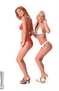 Lenka Gaborova in a bikini
