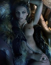 Karlina Caune - breasts