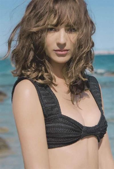 Louise Bourgoin in a bikini