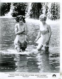 Mireille Darc in a bikini