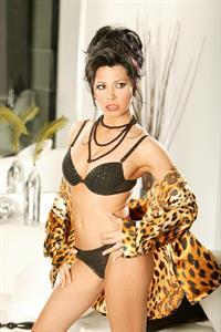 Rebeca Linares in lingerie