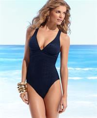 Nicole Boerner in a bikini