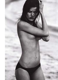 Isabeli Fontana in a bikini