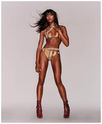 Naomi Campbell in lingerie