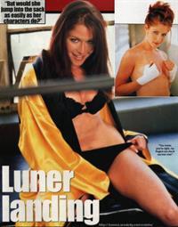 Jamie Luner in a bikini