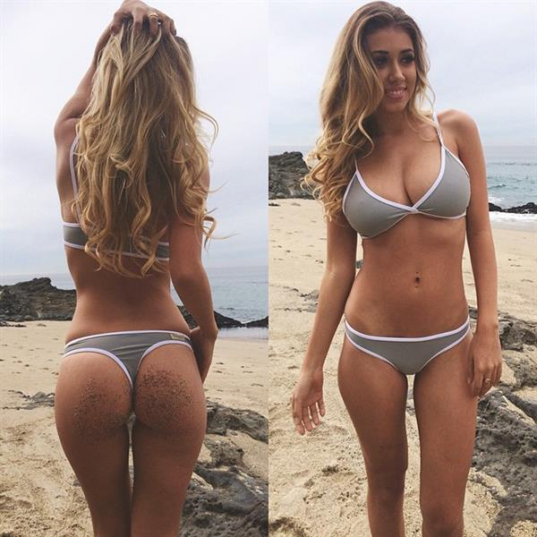 Back and Front View of Mariah Lee Bevacqua
