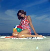 Barbara Parkins in a bikini