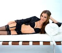 Candace Bailey in lingerie