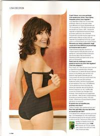 Lisa Edelstein in lingerie